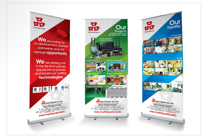 Branding Malaysia Business Banner Design Graphic